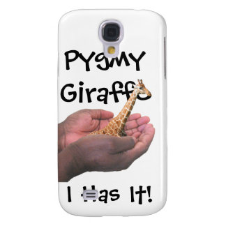 Pygmy Giraffe Galaxy S4 Case