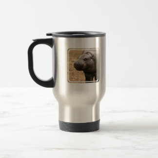 Pygmy Hippo Travel Mug