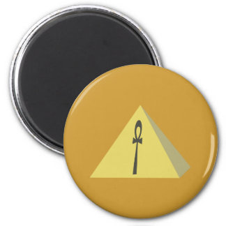 Pyramid pyramid ankh anch magnet
