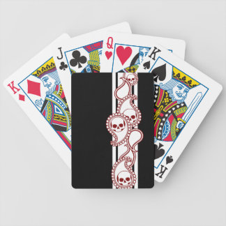 Pyre Ivory (Red) Playing Cards