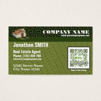 QR code Business Card for Florida realtor