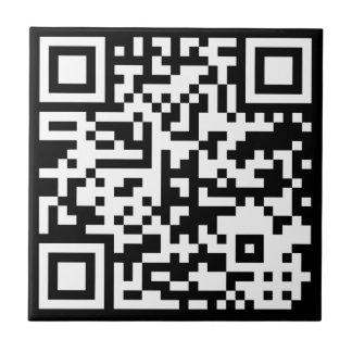 QR Code Código Small Square Tile