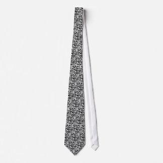 QR Tile tie