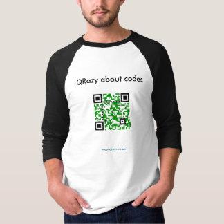 QRazy about codes - Jigsaw T-Shirt