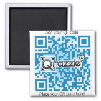 qrazzle store square magnet