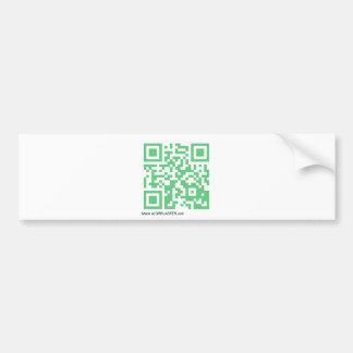 QRBlaster QRCode Products Bumper Sticker