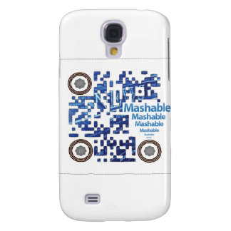 QRBlaster QRCode Products Galaxy S4 Case