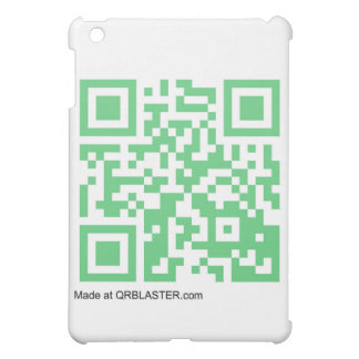QRBlaster QRCode Products iPad Mini Case