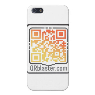 QRBlaster QRCode Products iPhone 5/5S Cover