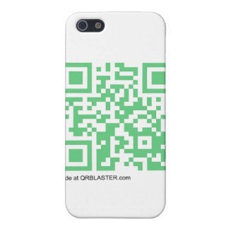 QRBlaster QRCode Products iPhone 5/5S Covers