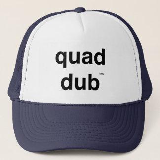 quad dub (tm) trucker hat