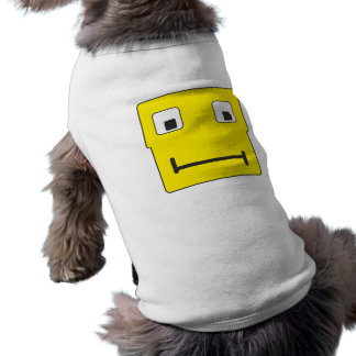 Quadratsmilie square smiley shirt