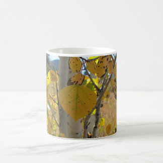 Quaking Aspen Leaf Coffee Mug