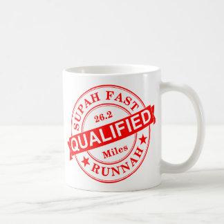 Qualified Super Fast Runner Coffee Mug