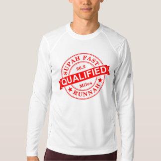 Qualified Super Fast Runner New Balance LS T-Shirt