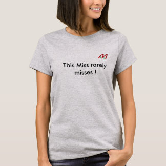 Quality T shirt with airgun message