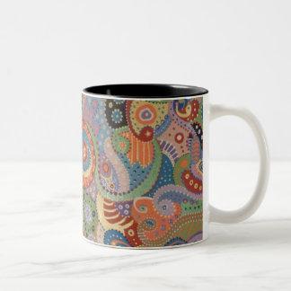 Quantum Strands Two-Tone Coffee Mug