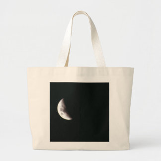 Quarter Moon Large Tote Bag