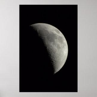 Quarter Moon Poster