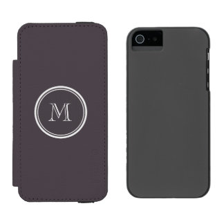 Quartz High End Colored Personalized Incipio Watson™ iPhone 5 Wallet Case