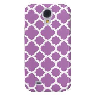 Quatrefoil Galaxy S4 Case in Radiant Orchid