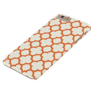 Quatrefoil iPhone 6 Plus Case in Tangerine