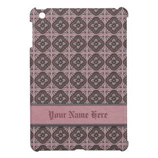 Quatrefoils Jade on Rose Case For The iPad Mini