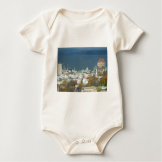 Quebec City Canada Waterfront Baby Bodysuit