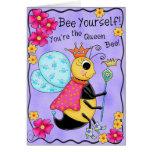 Queen Bee Whimsy Honey Bee Yourself Art