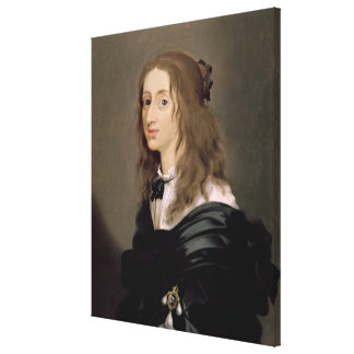 Queen Christina of Sweden  1652 Canvas Print
