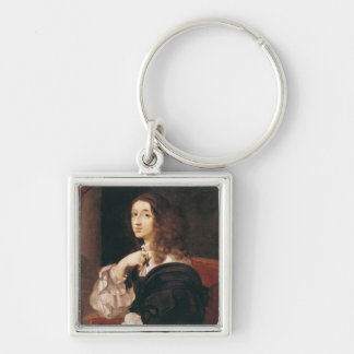 Queen Christina of Sweden Key Ring