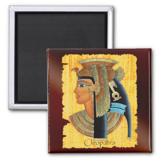 Queen Cleopatra Egyptian History Art Magnet