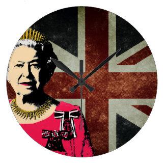 Queen Elizabeth II clock