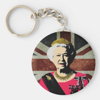 Queen Elizabeth II ı Key chain