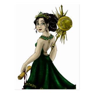 Queen Magnacious Post Card
