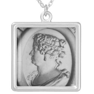 Queen Marie-Therese of Austria Silver Plated Necklace