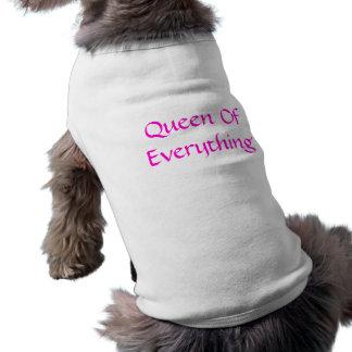 Queen of everything pet tee