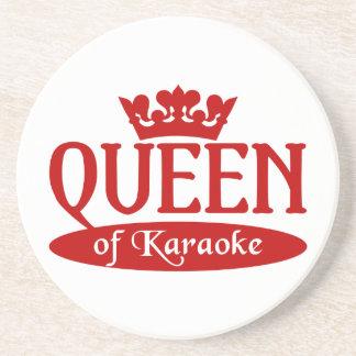 Queen of Karaoke coaster