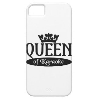 Queen of Karaoke iPhone 5 Case-Mate, customize iPhone 5 Cover