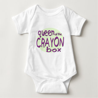 Queen of the Crayon Box T-shirt