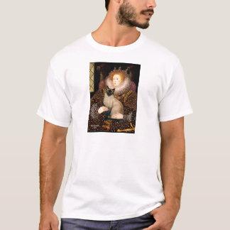 Queen- Seal Point Siamese cat T-Shirt