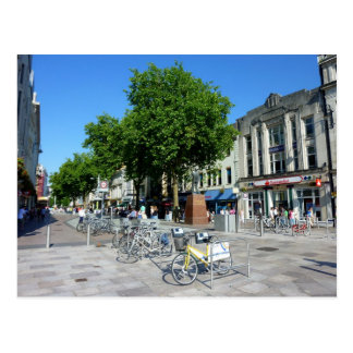 Queen Street Cardiff Postcard