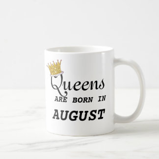 Queens Are Born in Aug Heart and EDIT NAME ON BACK