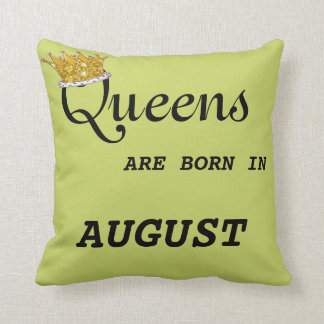 Queens Are Born in  Pillow