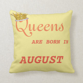 Queens Are Born in  Pillow Blue