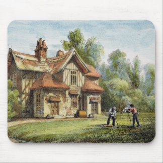 Queen's Cottage, Richmond Gardens, plate 17 from ' Mouse Pads