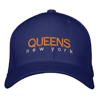 Queens New York Hat Embroidered Baseball Cap