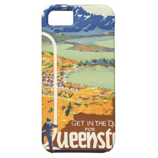 Queenstown, New Zealand Vintage Travel iPhone 5 Cases