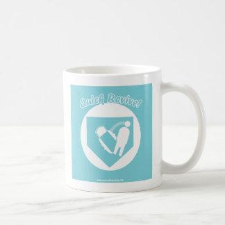 Quick Revive Basic White Mug
