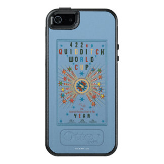 QUIDDITCH™ World Cup Blue Poster OtterBox iPhone 5/5s/SE Case